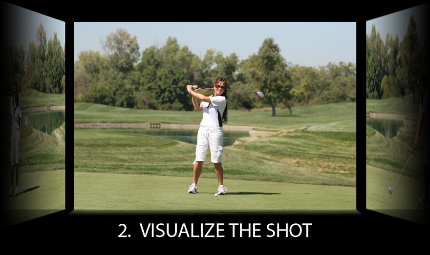 visualize the shot